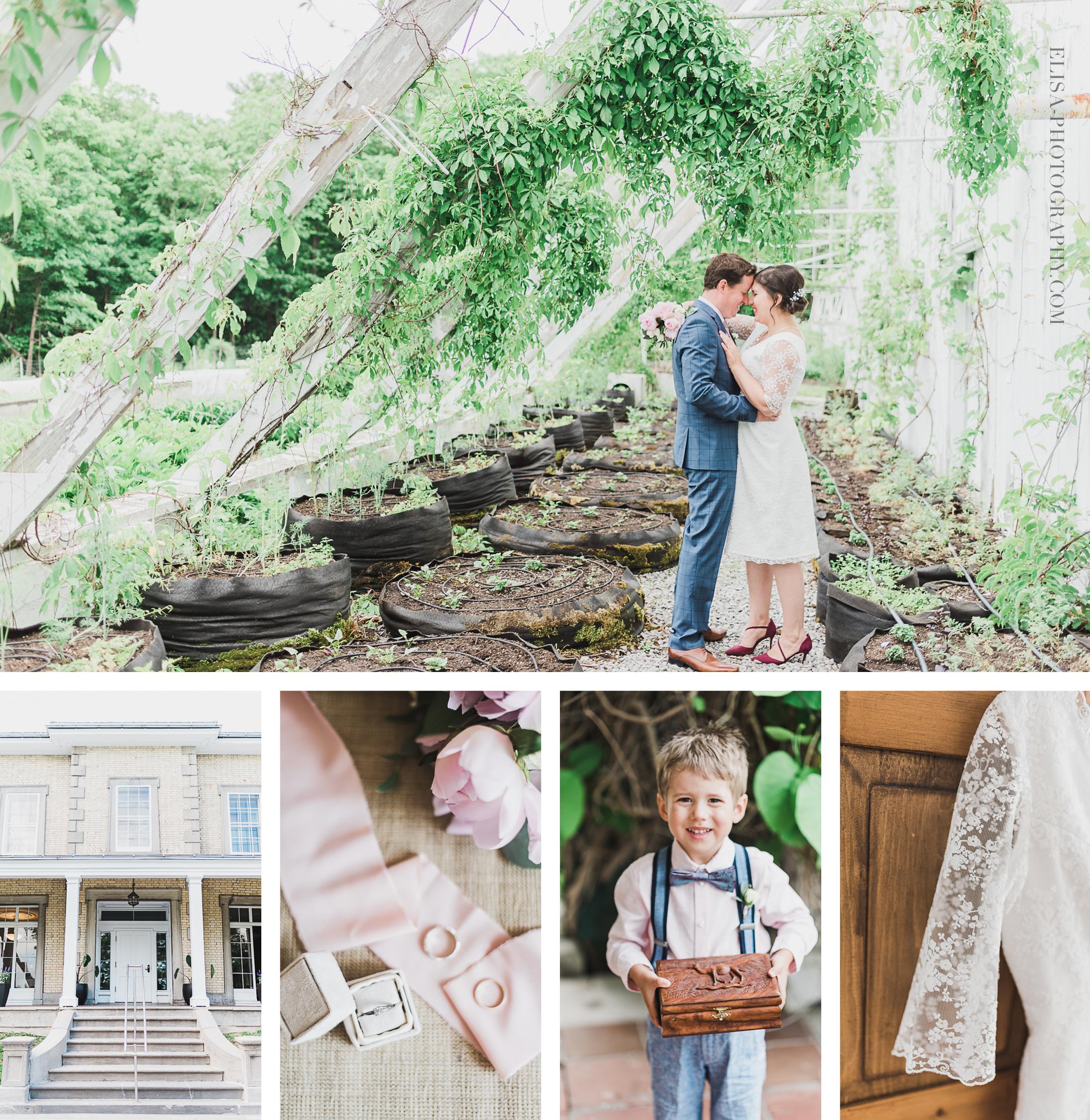photo mariage inspiration britannique au domaine cataraqui wedding ville de quebec canada
