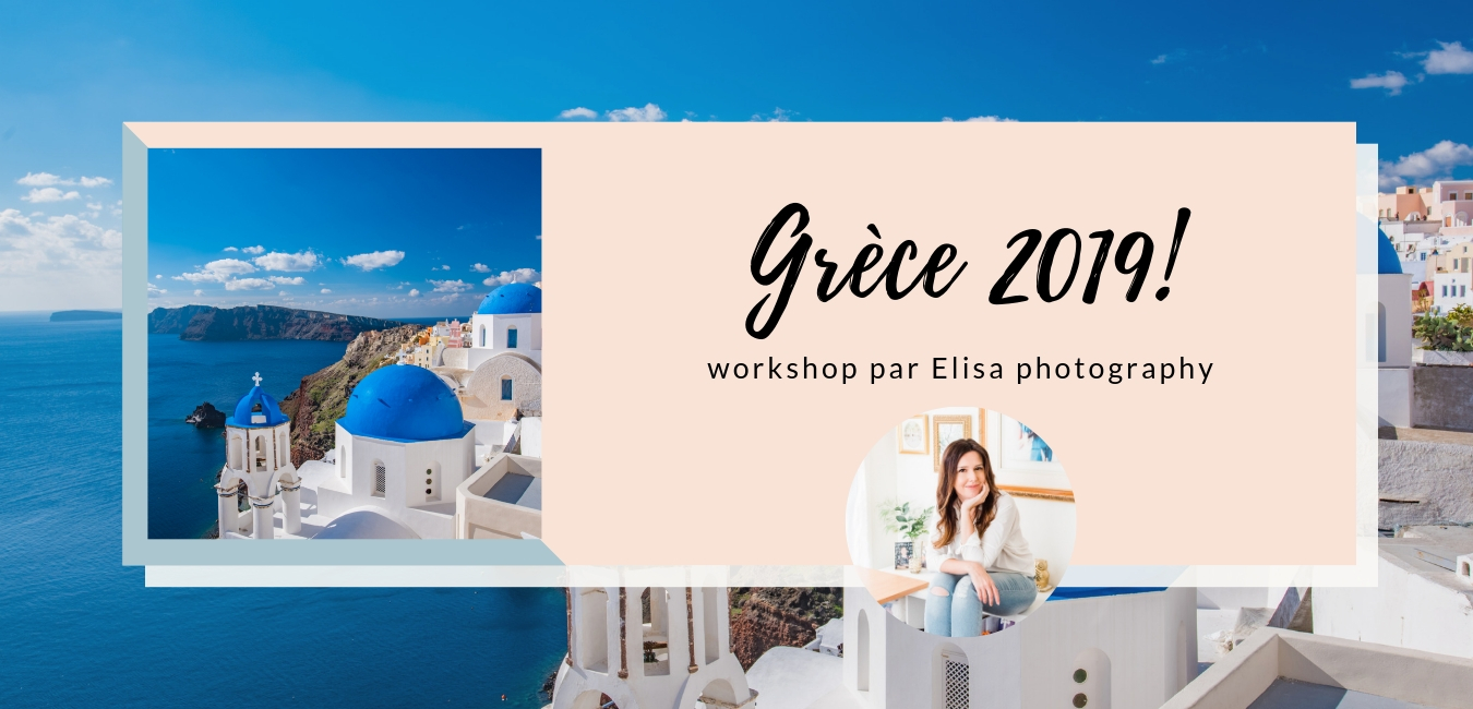 workshop sur la photographie à Santorini en Grece